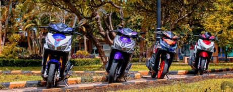 3 chiec Click Thai do do choi hang hieu o Sai Gon - Anh 1